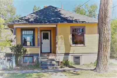 Laramie WY Single Family Home New: $185,000