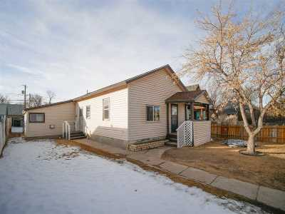 Laramie Single Family Home Back On Market: 618 S Cedar St.