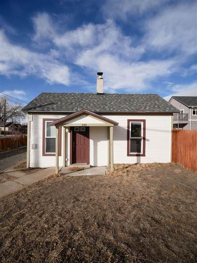 Single Family Home For Sale: 269 W Ivinson