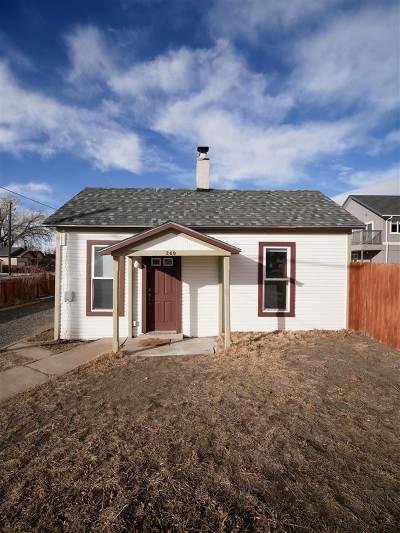 Laramie Single Family Home For Sale: 269 W Ivinson