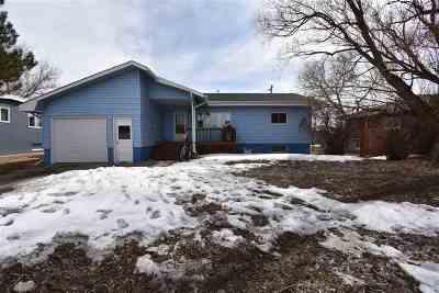 Laramie Single Family Home For Sale: 1824 Ord Street