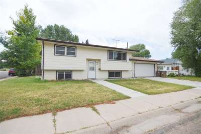 Laramie Single Family Home For Sale: 2132 Thronburgh