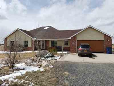 Laramie Single Family Home New: 5340 Anchor