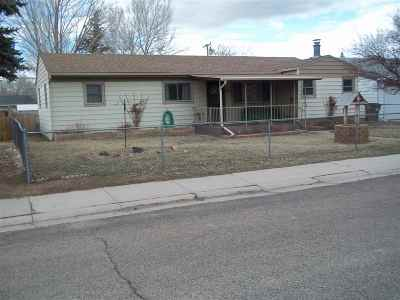 Laramie Single Family Home New: 1003 Sanders Dr