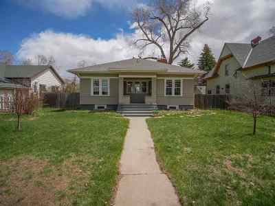 Laramie Single Family Home For Sale: 415 S 11th Street
