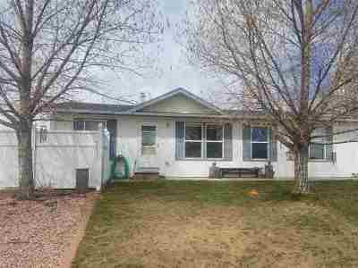 Laramie WY Single Family Home New: $195,000