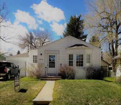 Laramie Single Family Home New: 1614 E Garfield