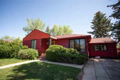 Laramie Single Family Home New: 1929 Thornburgh