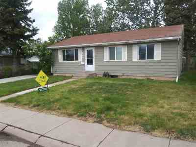Laramie WY Single Family Home For Sale: $225,000