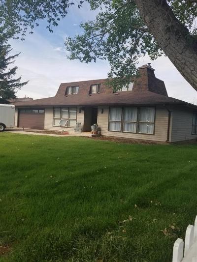 Laramie Single Family Home For Sale: 1066 Alta Vista