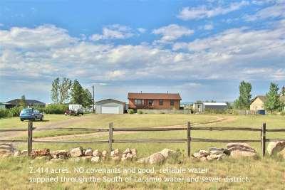 Laramie Single Family Home For Sale: 1315 Howe Road