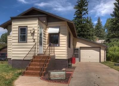 Laramie Single Family Home New: 1613 Kearney