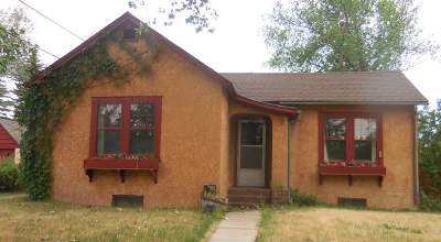 Laramie Single Family Home New: 1108 Park