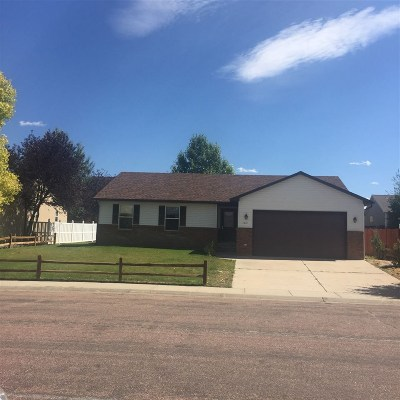 Laramie Single Family Home For Sale: 1613 Shetland