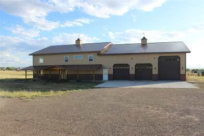 Laramie Single Family Home New: 5510 Happy Jack Trail