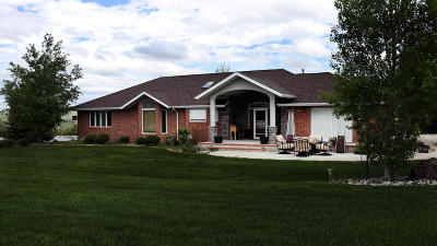 Sheridan WY Single Family Home For Sale: $825,000