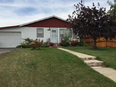 Sheridan WY Single Family Home For Sale: $192,500