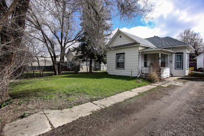 Sheridan WY Single Family Home For Sale: $124,900