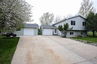 Sheridan Single Family Home For Sale: 1638 North Heights Drive