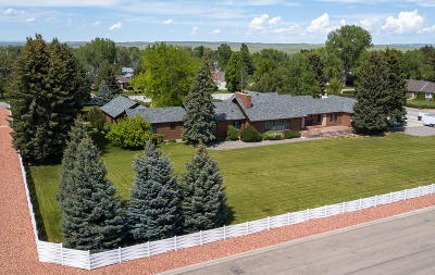 Sheridan Single Family Home For Sale: 1001 Pioneer Road