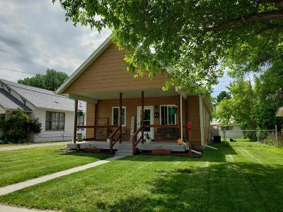 Sheridan WY Single Family Home For Sale: $196,900