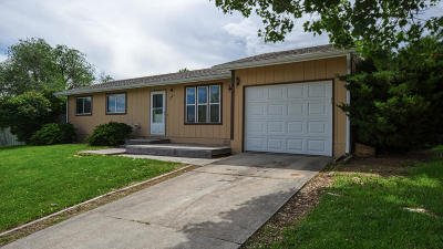 Sheridan WY Single Family Home For Sale: $168,900