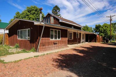 Ranchester Single Family Home For Sale: 337 Halbert Street