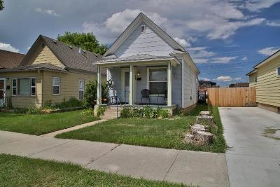 Sheridan WY Single Family Home For Sale: $110,000