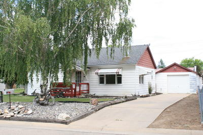 Sheridan WY Single Family Home For Sale: $195,000