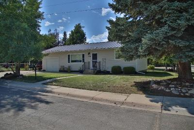 Sheridan WY Single Family Home For Sale: $199,000
