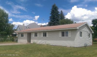 Afton WY Single Family Home Sold: $128,000