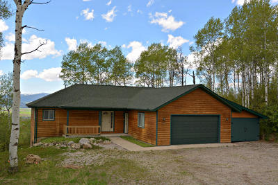 Star Valley Ranch Single Family Home For Sale: 145 Alpenglow