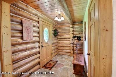 Teton Village, Tetonia, Jackson, Driggs, Victor, Swan Valley, Alta Single Family Home Pending Contingent: 9760 Little Pine