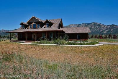 Alpine WY Single Family Home For Sale: $549,900