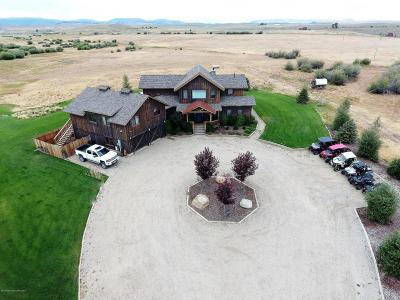 Pinedale WY Single Family Home For Sale: $1,449,500
