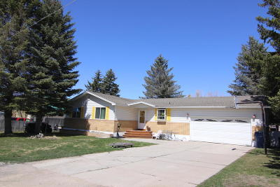 Afton WY Single Family Home For Sale: $265,000