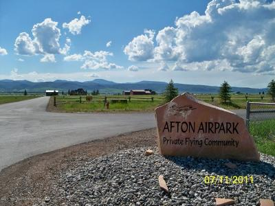 Afton WY Residential Lots & Land For Sale: $88,000