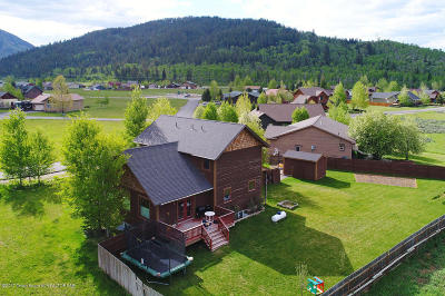 Alpine WY Single Family Home For Sale: $369,000