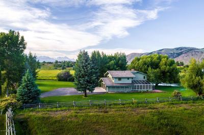 Jackson Single Family Home For Sale: 4600 Runway Rd