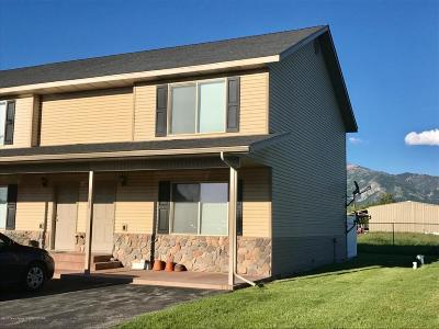 Freedom WY Condo/Townhouse For Sale: $184,900