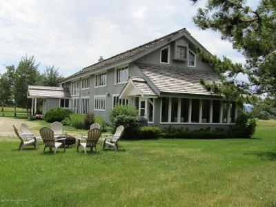 Teton Village, Tetonia, Driggs, Jackson, Victor, Swan Valley, Alta Single Family Home Pending Contingent: 1688 Red Fox Rd