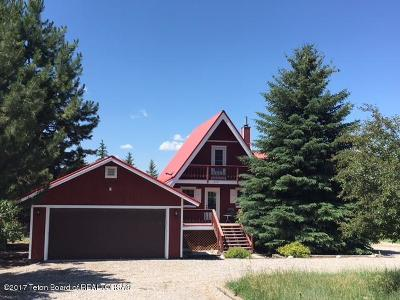 Star Valley Ranch WY Single Family Home For Sale: $179,000