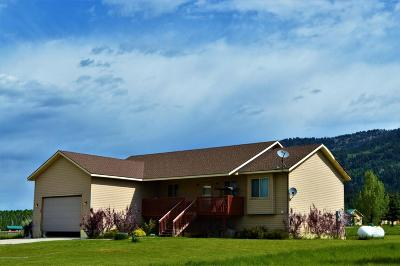Star Valley Ranch WY Single Family Home For Sale: $372,500