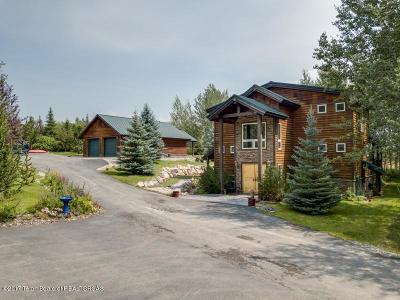Teton Village, Tetonia, Driggs, Jackson, Victor, Swan Valley, Alta Single Family Home For Sale: 5084 Snowberry Ln