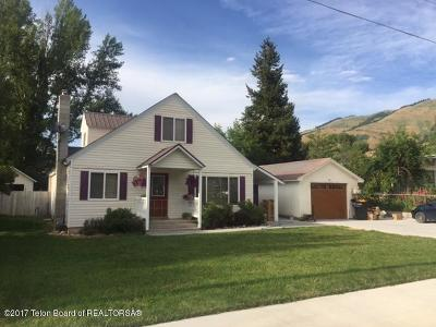 Afton Single Family Home For Sale: 181 E 2nd