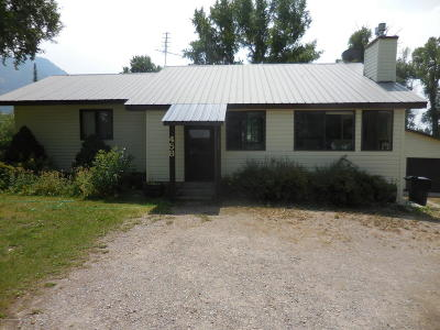 Afton WY Single Family Home Pending Contingent: $230,000