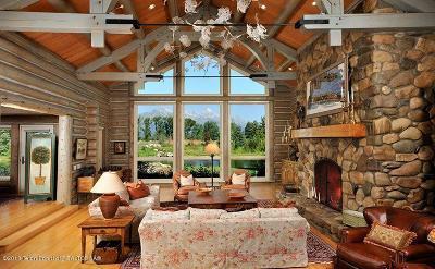 Driggs, Felt, Tetonia, Victor, Alta, Hoback Jct., Jackson, Moran, Teton Village, Wilson Single Family Home For Sale: 6630 Upper Cascade