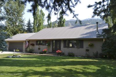 Alpine WY Single Family Home For Sale: $399,000