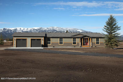 Alpine WY Single Family Home For Sale: $415,000