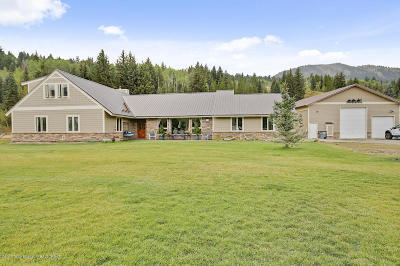 Jackson Single Family Home For Sale: 4445 E Mule Deer Ln